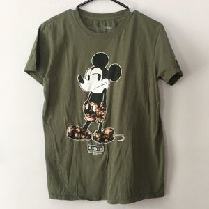 NEFF X Disney Mickey Mouse Tshirt Mens Size Medium